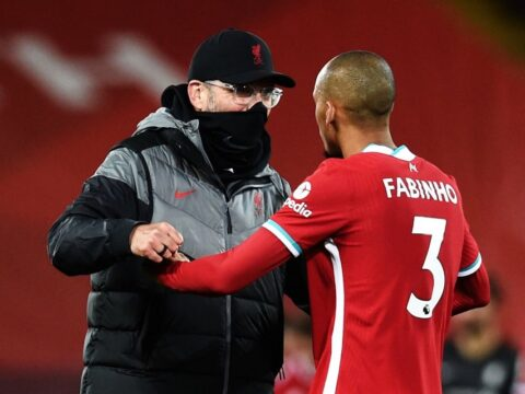 Fabinho reveals the match that Manchester United proved they are on top form