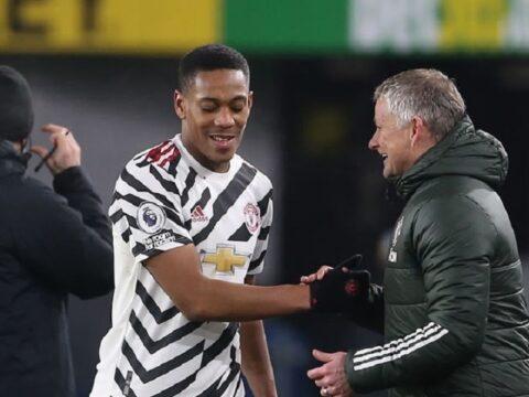 Manchester United receive Anthony Martial injury update ahead of Liverpool trip