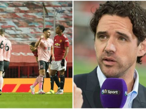 Owen Hargreaves calls out five Manchester United in Sheffield United defeat