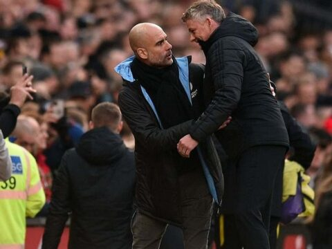 Frank Leboeuf predicts final result for Manchester United vs Manchester City clash