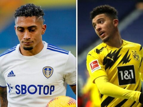 Man United fan tells Ole Gunnar Solskjaer player to sign if Jadon Sancho's deal is ruled out