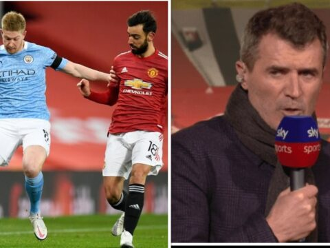 Roy Keane takes swipe at Bruno Fernandes after Manchester United exit Carabao Cup