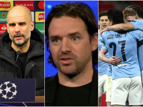 Owen Hargreaves says only Bayern Munich can stop Man City from quadruple success