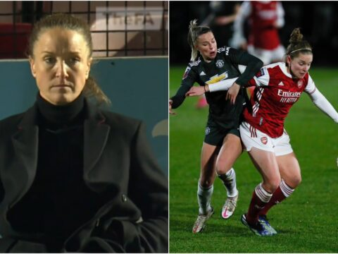 Casey Stoney reacts to 'disappointing' Manchester United Women loss to Arsenal Women