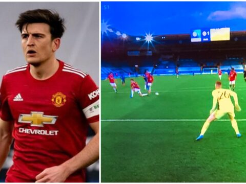 Harry Maguire breaks silence on 'tough' Manchester United defeat to Leicester City