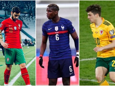 How Manchester United players performed in World Cup Qualifiers for their countries