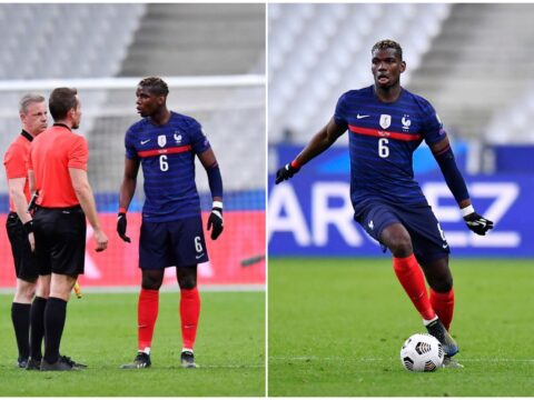 Paul Pogba sends France teammates message after draw with Ukraine in World Cup Qualifiers