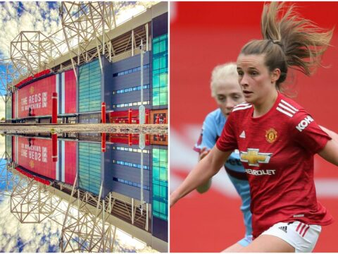 Manchester United Women star Ella Toone reacts to Old Trafford experience