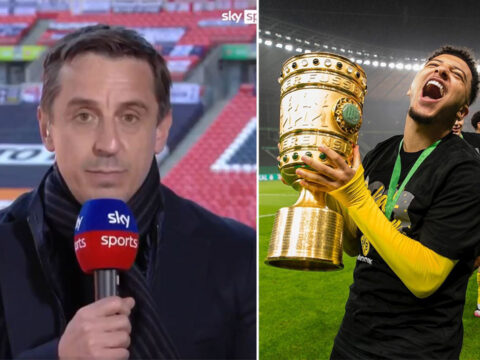 Gary Neville sees Manchester United winning Premier League with these three signings